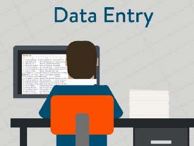 Expert in data entry, word processing, excel, web scraping, powerpoint & Power BI Dashboard