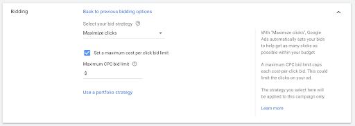 Search Engine Marketing (SEM) Bid Strategies