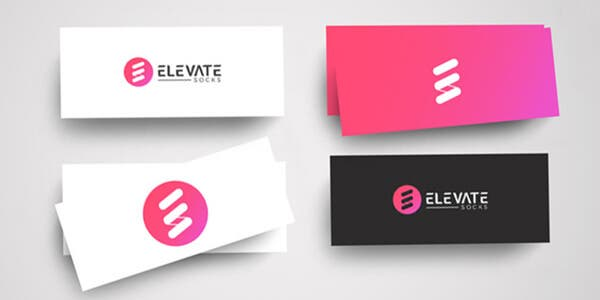 Mini card design for modern business card