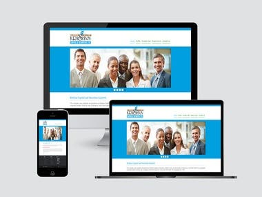 We developed website of  Krishna Capital and Securities Limited. It is Non-Banking Financial Company (NBFC) registered with Reserve Bank of India (RBI) providing services of trading in shares and securities and providing various financial services.