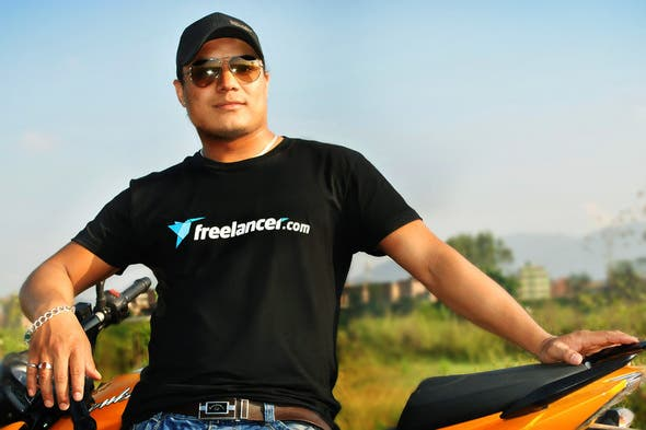 Camiseta de Freelancer